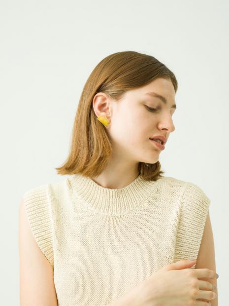 16_1 dress¥47,000  inner¥7,700  earring¥9,000