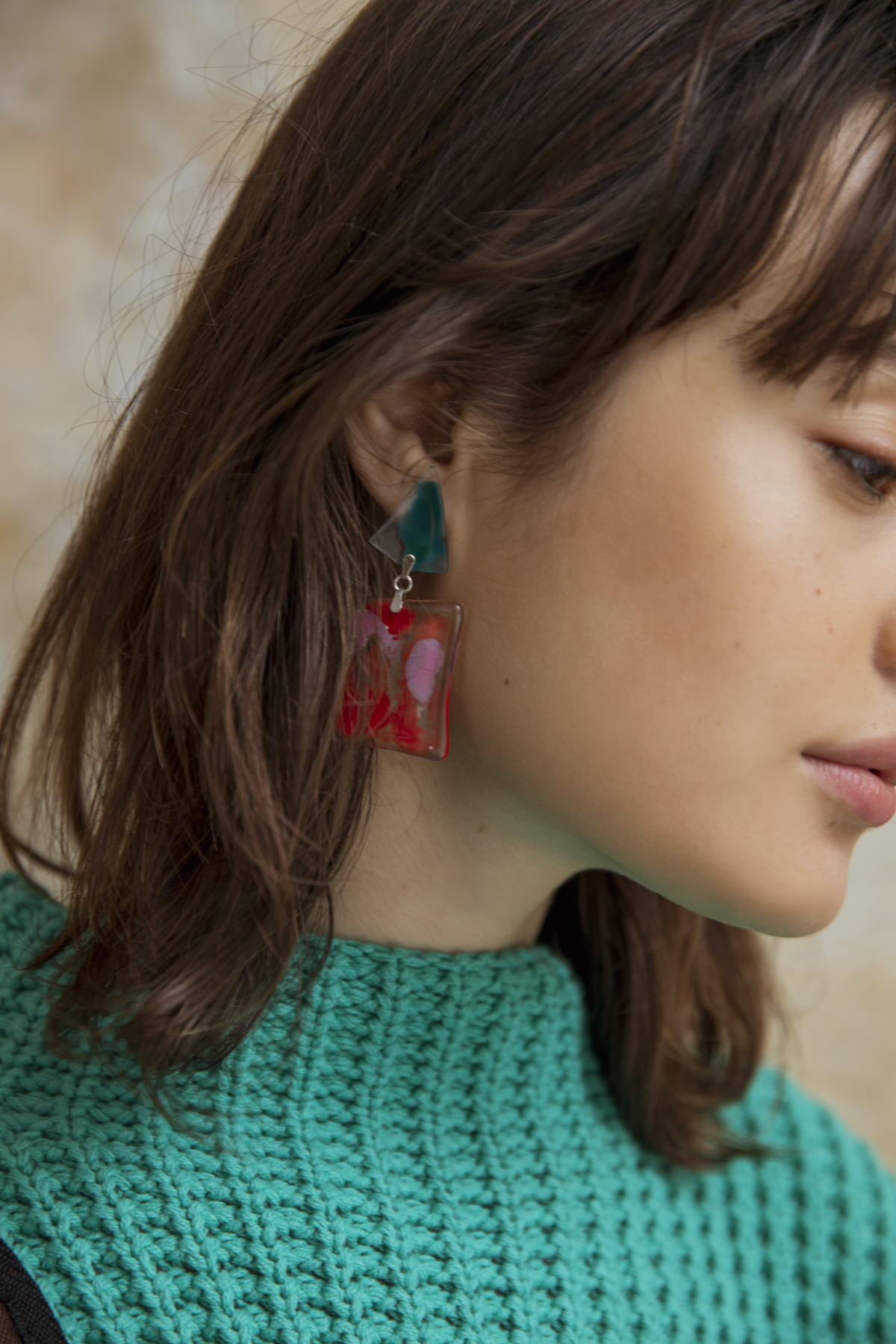 38_1 knit¥23,000 earrings¥10,000
