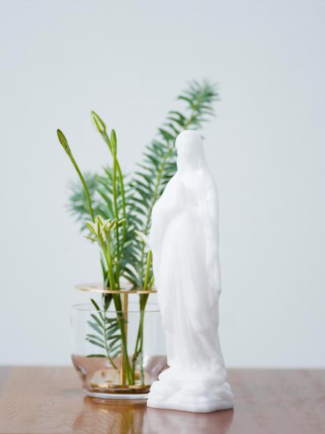 35 virgin mary candle ¥5,000 Ikebana vase ¥13,000