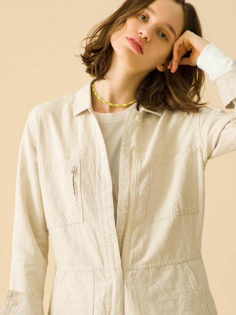 3_1 jumpsuits¥29,000 tee¥13,000 necklace¥5,000 ring¥42,000