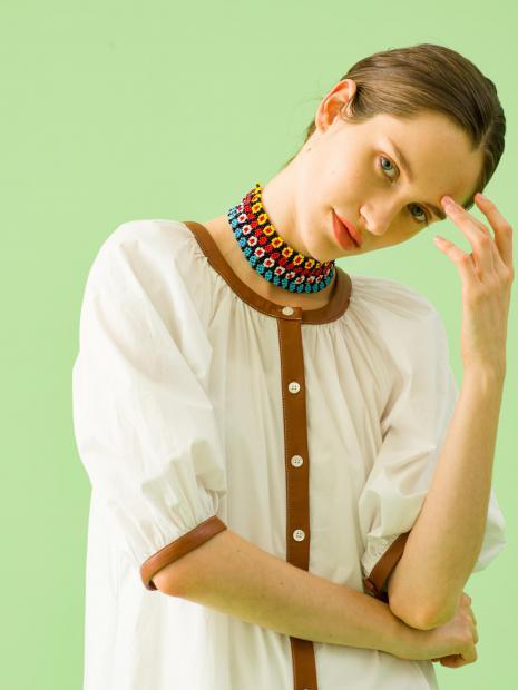 9_1 dress¥36,000 necklace¥7,000