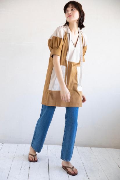 7_1 dress¥53,900 pants¥25,300 bag¥16,500 shoes¥16,500