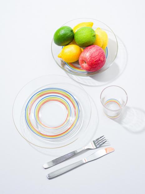 35 glass ¥990  plate(S) ¥1,320  plate(L) ¥1,760  soup plate ¥1,980