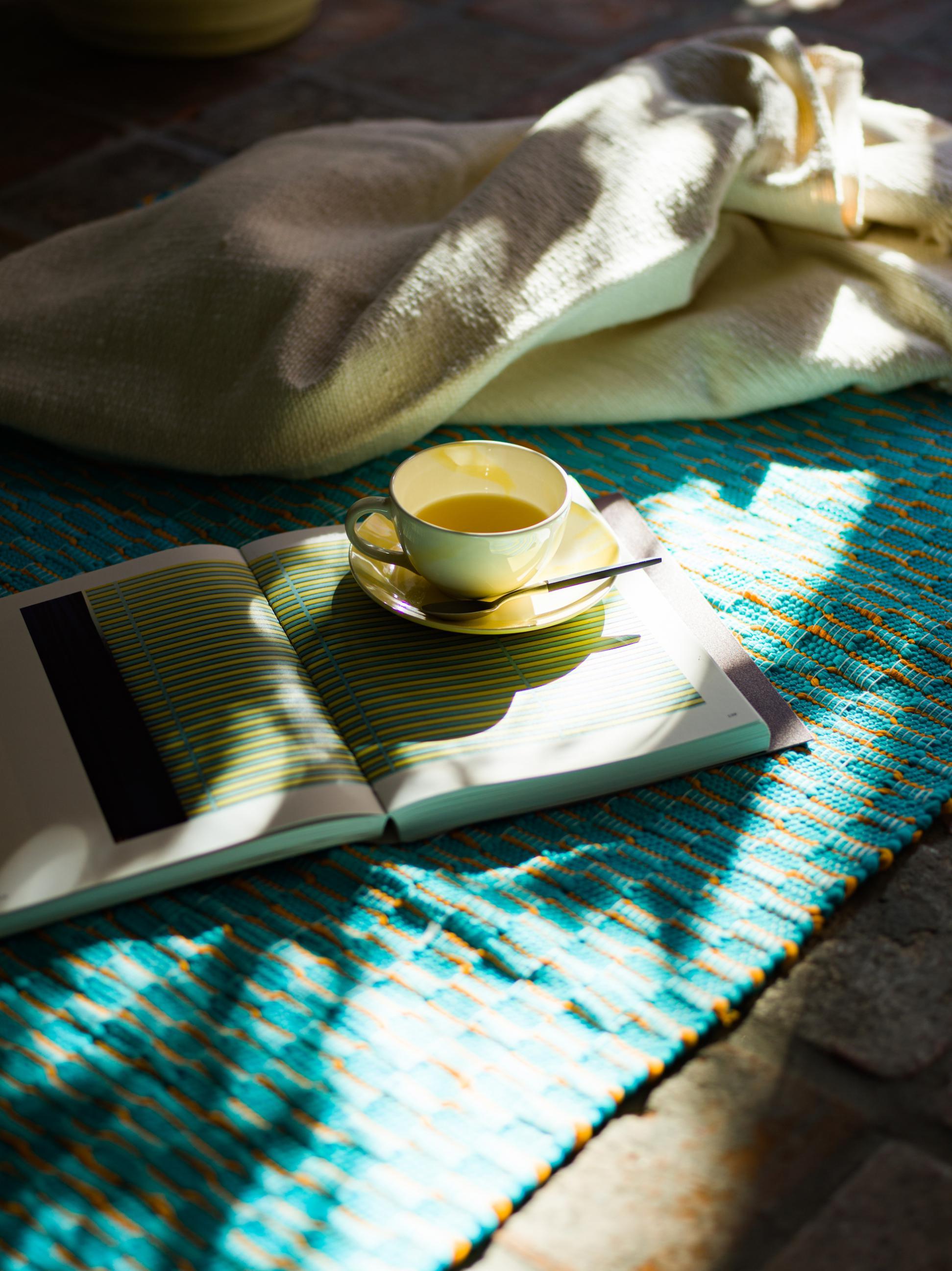 1 rug ¥20,900 cup&saucer ¥1,980