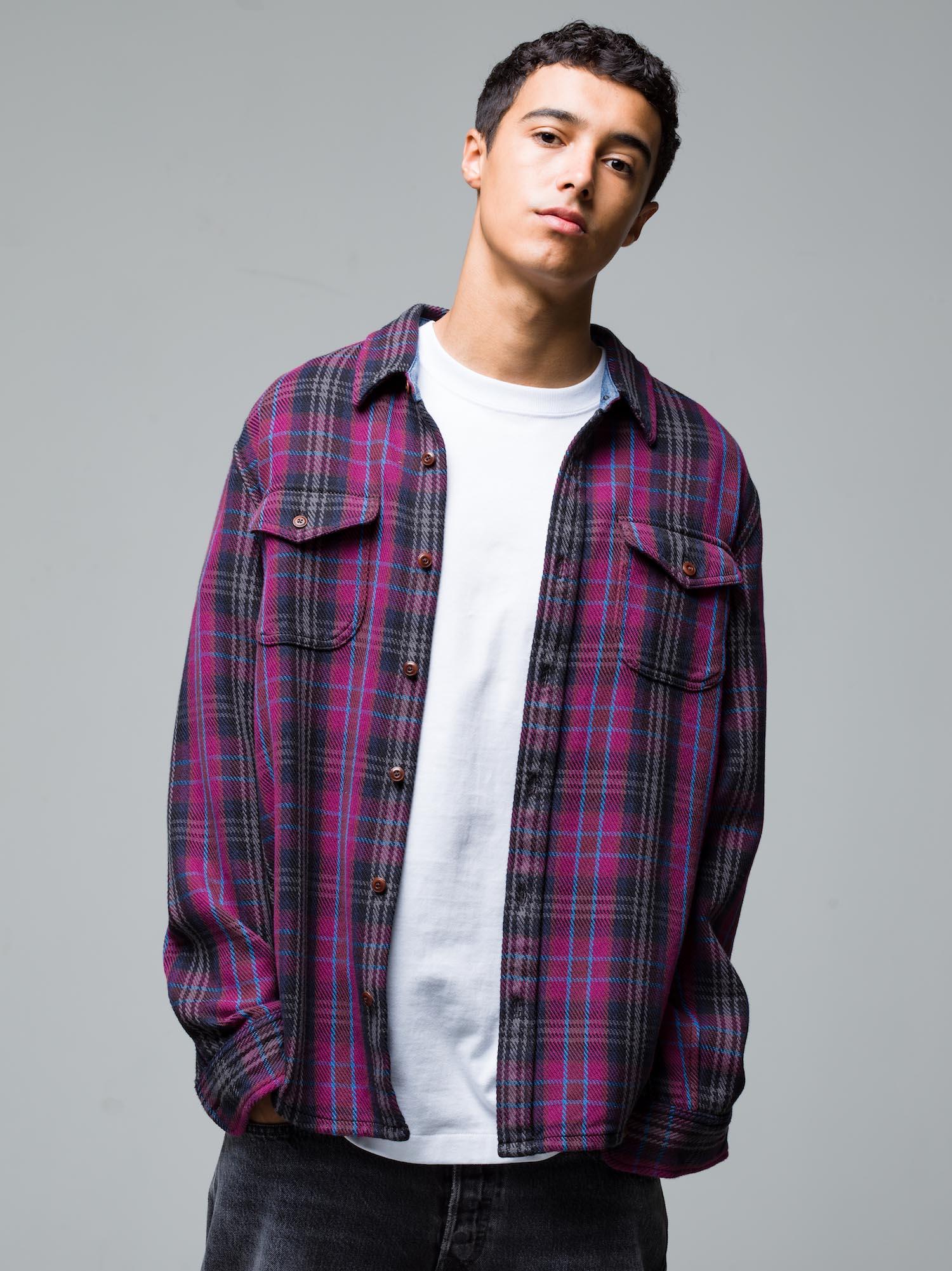 3) L/S Shirt ¥28,600  Inner ¥8,800  Pants ¥39,600