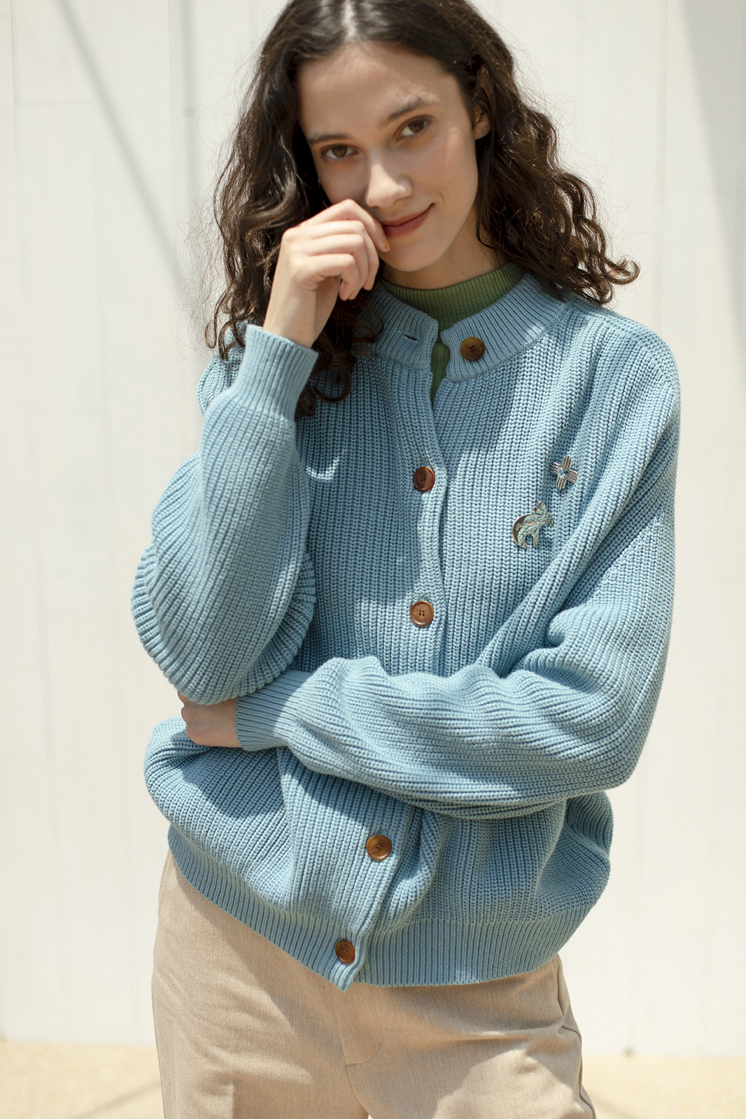 14_1 knit¥25,300  knit¥19,800  pants¥28,600  broach¥24,200  broach¥20,900