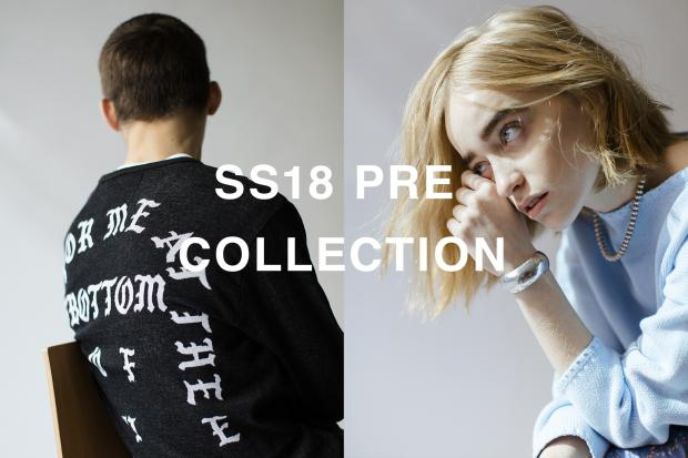 2018SS Pre Collection 12.8(fri) Release