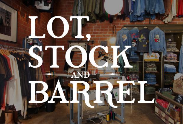 LOT, STOCK AND BARREL Chain Stitch Service 3.25(sun) @Ron Herman Sendagaya「R」