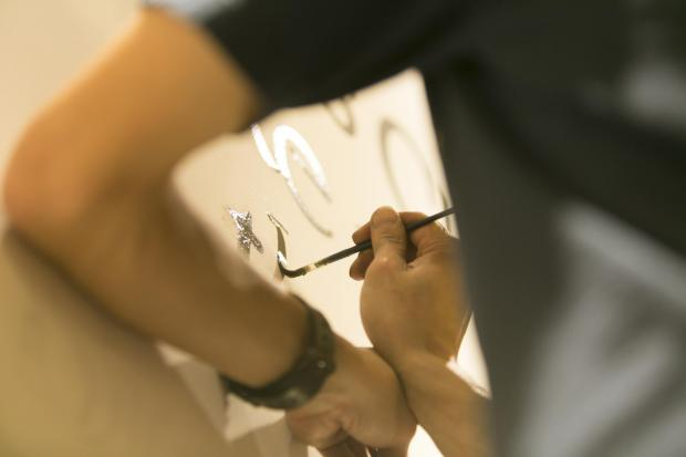 Initial Lettering Service by Sign Painters 4.20(fri) @RHC Ron Herman Kawasaki