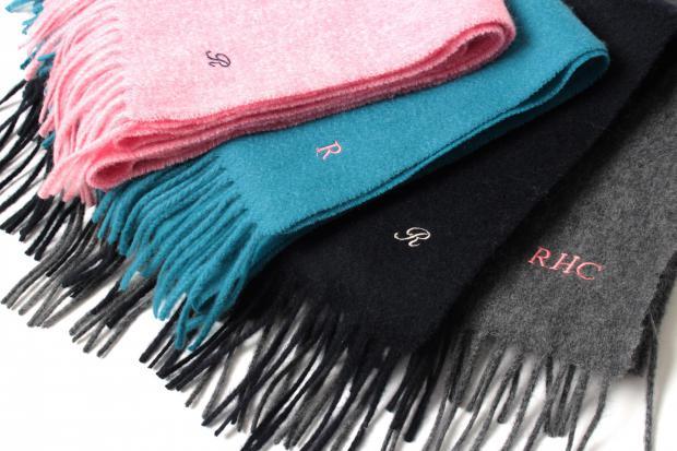 RHC Original Cashmere Scarf Special Embroidery Service 12.15(sat)-12.16(sun) @RHC Ron Herman Toyosu