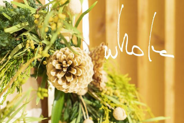 whole Christmas wreath In Store 12.15(sat)- @RHC Ron Herman Toyosu