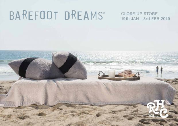 BAREFOOT DREAMS for RHC Close Up Store 1.19(sat)-2.3(sun) @RHC Ron Herman Toyosu,Kawasaki,Nagoya,Fukuoka