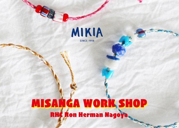 MIKIA MISANGA WORK SHOP 9.28(sat) @RHC Ron Herman Nagoya