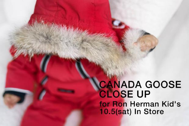 CANADA GOOSE close up for Kid's 10.5(sat)-