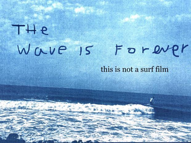 """The Wave Is Forever""Nigel Scott Film Screening 10.31 8pm-8:30pm @Ron Herman Cafe Sendagaya"