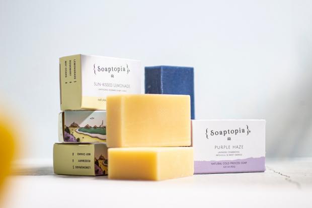 Soaptopia Bar Soap 12.1(tue) New Release