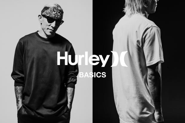 Hurley Basics  T-shirts&Long Sleeve T-shirts 7.31(sat)New Arrival
