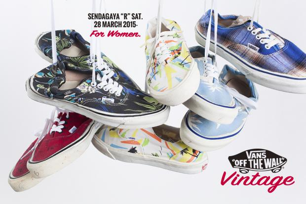 Vintage VANS for Women pop up event 3.28(sat)-