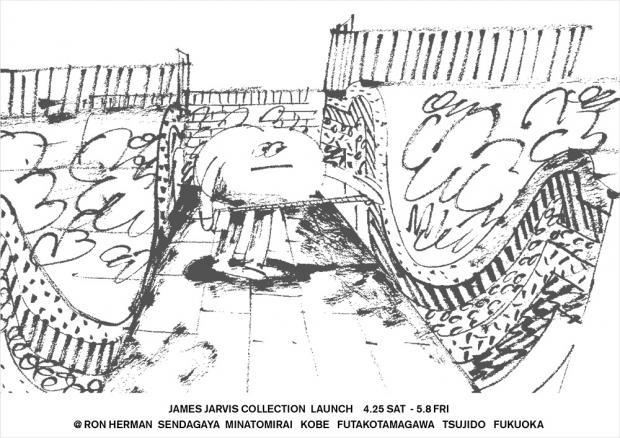 JAMES JERVIS×NIKE SB COLLECTION Launch Party @ Ron Herman SENDAGAYA  R