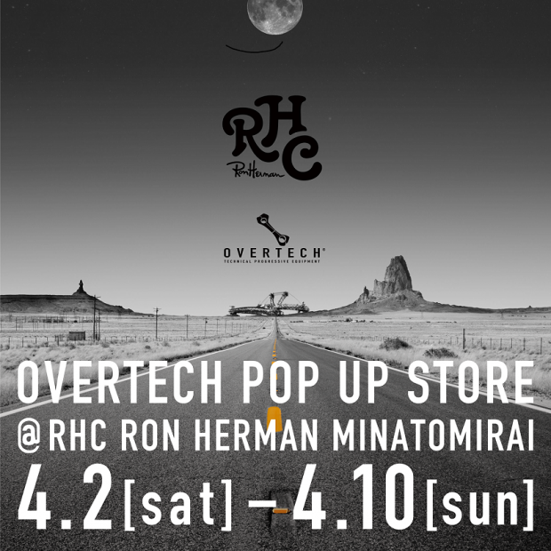 OVERTECH POP UP STORE 04.02(Sat) ~04.10(Sun)
