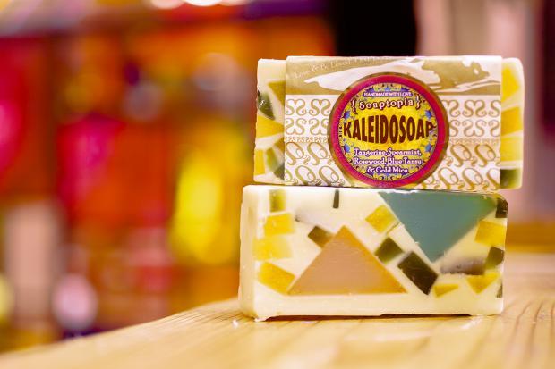 Soaptopia Christmas Kaleidosoap
