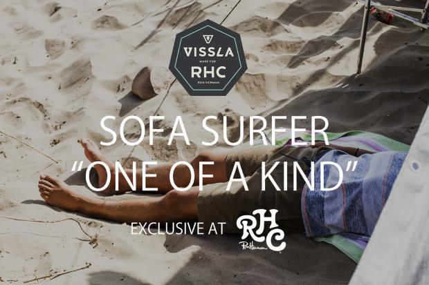 "VISSLA SOFA SURFER""ONE OF A KIND"" Exclusive for RHC 6.3(sat)-4(sun) @Ron Herman Sendagaya「R」"